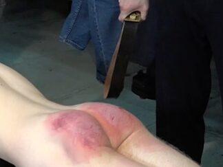 Boys Belt spanking