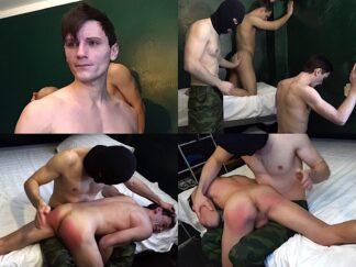 Hand spanking gay boy