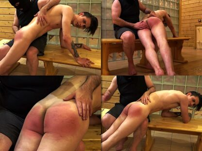 hand spanking boy video Gera in the sauna