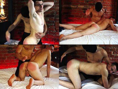 Hand spanking boy Dobromil