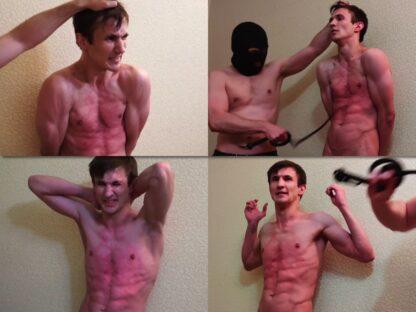 Russian boy torso flogging