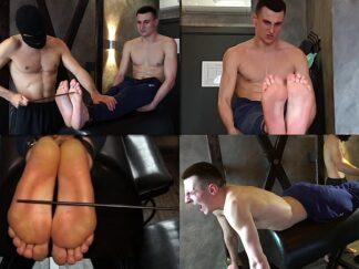Bastinado feets boy russian lad